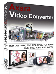 Product box: Axara Video Converter